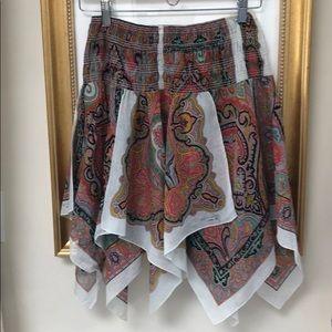 Etro Paisley Scarf Skirt Beach Cover M